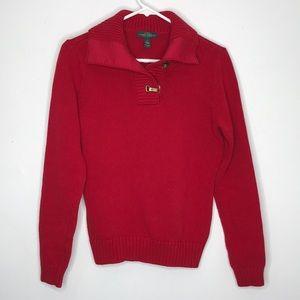 Lauren Ralph Lauren Shawl Neck Sweater